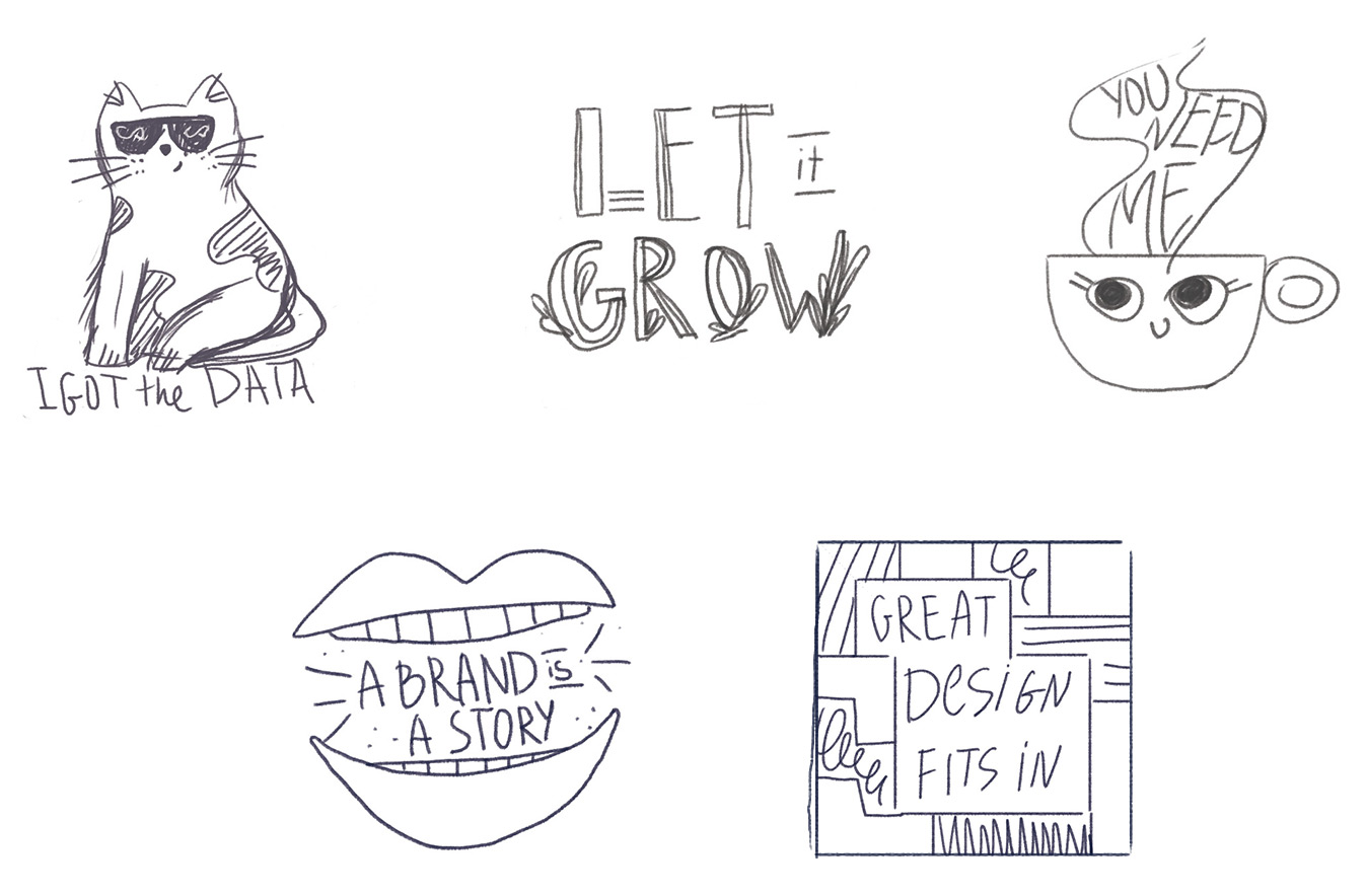 sketches-stickers